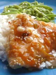 Sesame Orange Chicken | heatherlikesfood.com