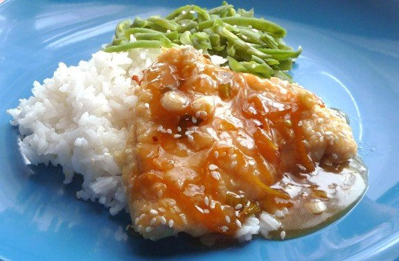Baked Orange Chicken | heatherlikesfood.com