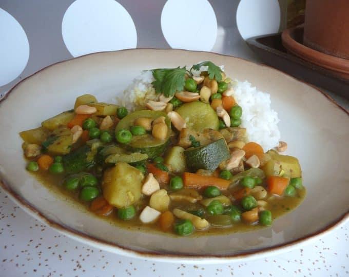 Vegetable Curry | heatherlikesfood.com