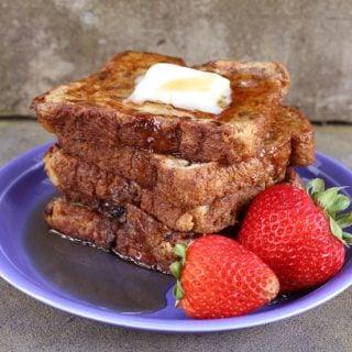 Cinnamon Rasin French Toast | heatherlikesfood.com