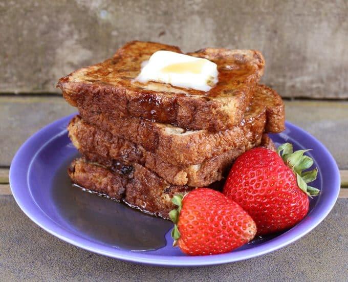Cinnamon Rasin French Toast   heatherlikesfood.com