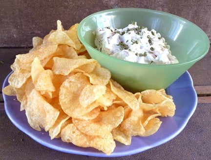 Sweet Onion Dip | heatherlikesfood.com