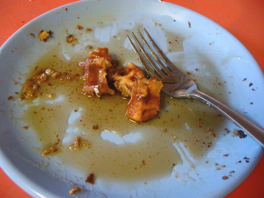 Yeasted Belgium Waffles