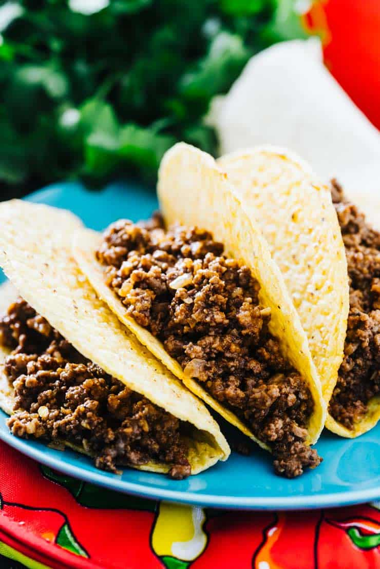 Mexican Style Ground Beef Recipe Saucy And Flavorful Without The Mix