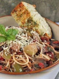 Balsamic Vegetable Ragout | heatherlikesfood.com