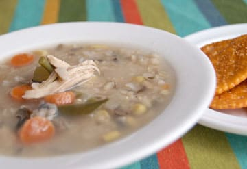 Chicken Soup with Wild Rice | heatherlikesfood.com