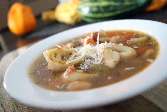 Tortellini Minestrone | heatherlikesfood.com