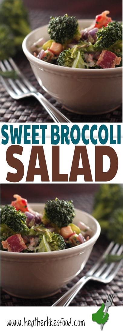 Sweet Broccoli Salad