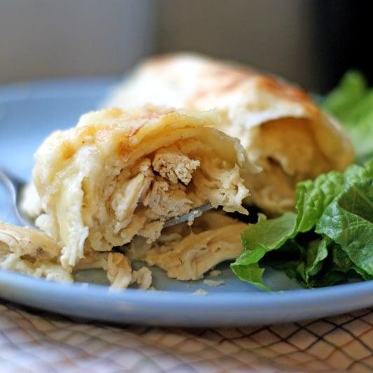Sour Cream Chicken Enchiladas | heatherlikesfood.com