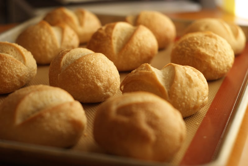 Sourdough Rolls for Breakfast Rolls