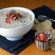Southwestern Corn and Potato Chowder