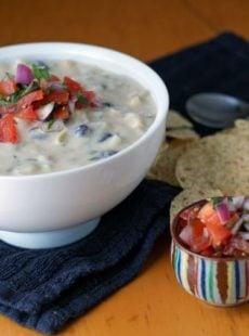Southwestern Potato and Corn Chowder | heatherlikesfood.com