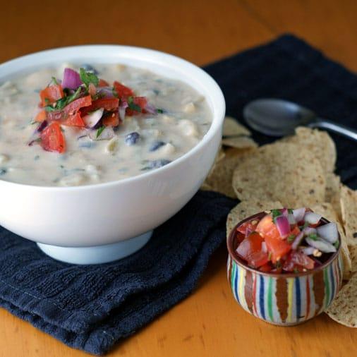 Southwestern Corn and Potato Chowder