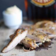 Roasted Maple Mustard Chicken