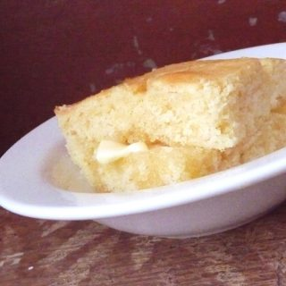 Biscuit Mix Corn Bread-- every one I make this for agrees it's the best corn bread they've ever had.