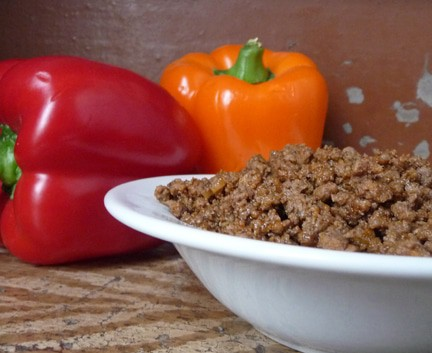 Mexican Style Ground Beef | heatherlikesfood.com