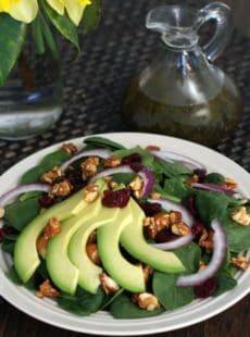 Spring Avocado Salad | heatherlikesfood.com