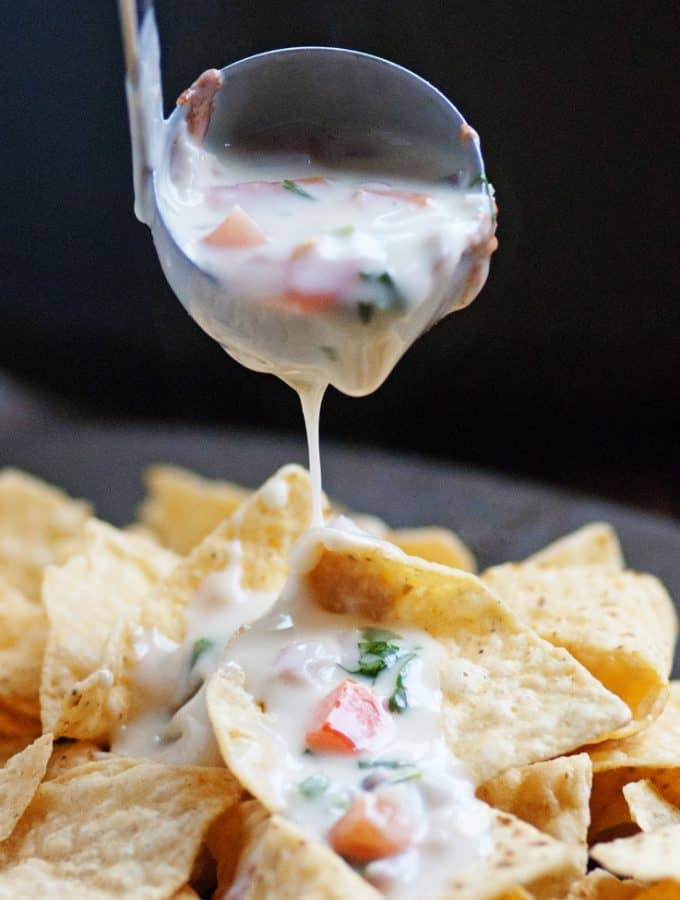 White Queso Blanco Dip