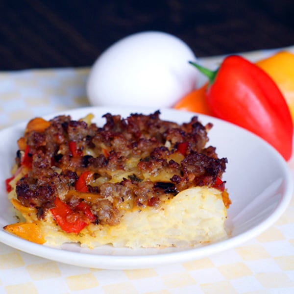 Sausage and Egg Breakfast Bake