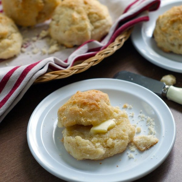 Cream Drop Biscuits - Heather Likes Food