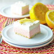 Pink Lemonade Freezer Bars