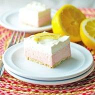 Pink Lemonade Freezer Bars
