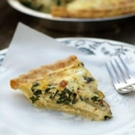 Potato, Bacon, and Kale Quiche