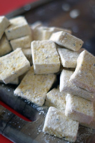 Coconut Curry w/ Fried Tofu + A Giveaway (Closed)!