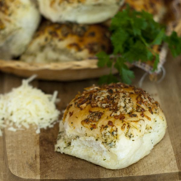 Herb and Cheese Crusted Rolls