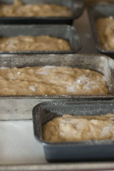 Sugar Crusted Banana Bread
