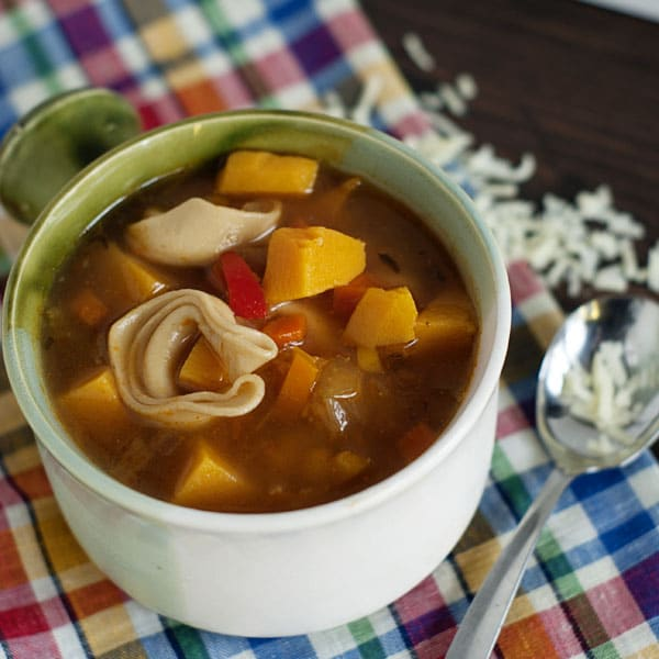 Harvest Tortellini Soup Recipe
