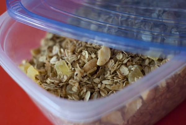 Tropical Granola Parfait