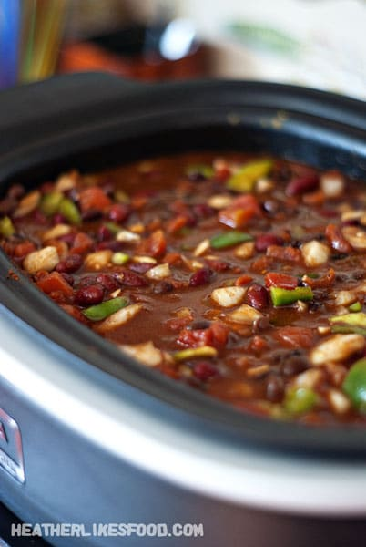 Crock-Pot Hawaiian Chicken Chili