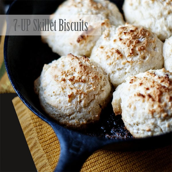7-UP Skillet Biscuits