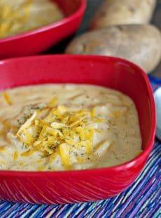 Hearty Cheese Potato Soup