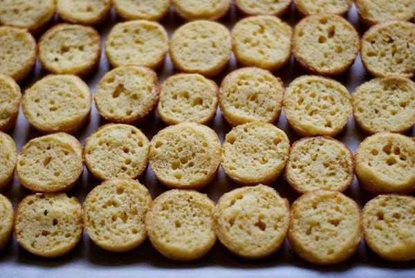 Bite-sited Boston cream pie