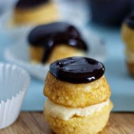 Bite-Sized Boston Cream Pie