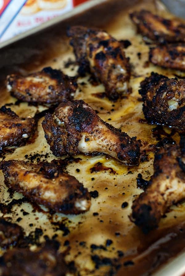 Cajun Alfredo Chicken Wings