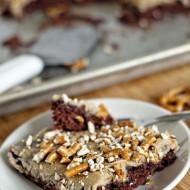 Salted Caramel Pretzel Chocolate Cake