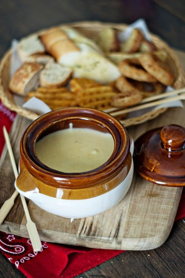 Cheese Fondue Is For Lovers