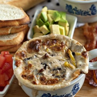 Ultimate California Cheesesteak Dip | heatherlikesfood.com