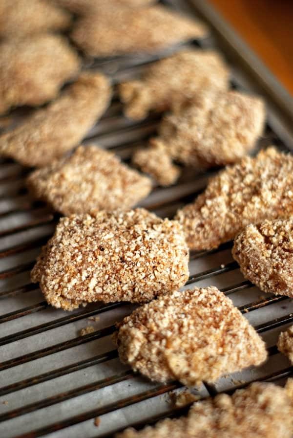 Homemade Chicken Nuggets   heatherlikesfood.com