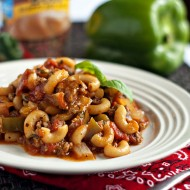 Sweet and Smoky Goulash + a GIVEAWAY!
