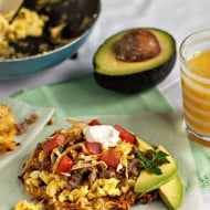Hashbrown Breakfast Tostadas