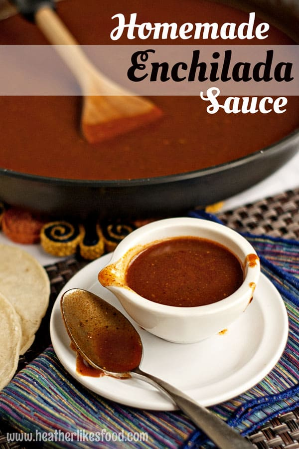 Homemade Enchilada Sauce | heatherlikesfood.com