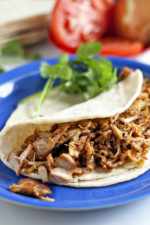 Skinny Pork Carnitas | heatherlikesfood.com