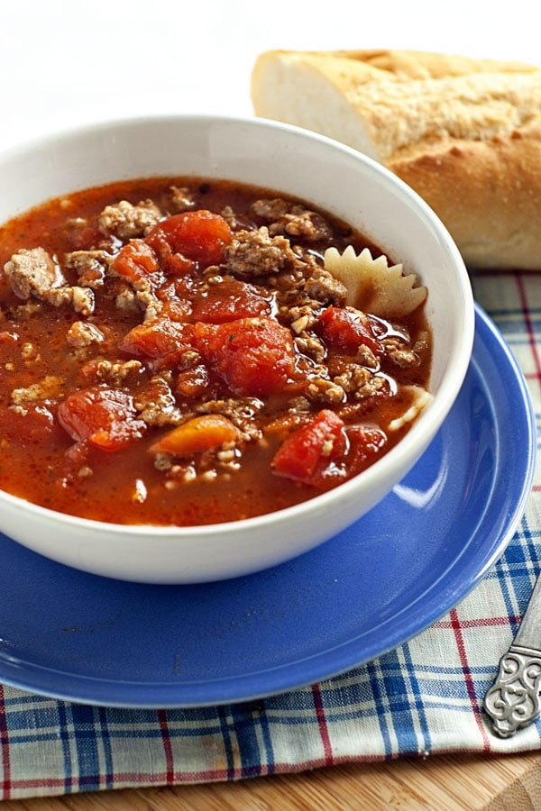 Lasagna Soup | heatherlikesfood.com