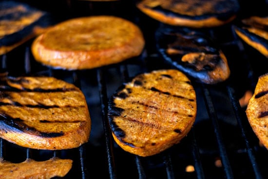 Grilled Sweet Potatoes | heatherlikesfood.com