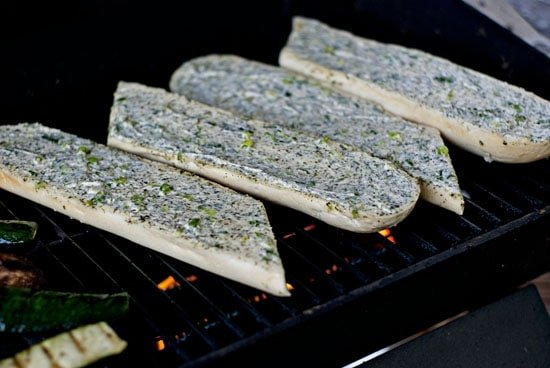 Grilled Herb and Onion Bread | heatherlikesfood.com