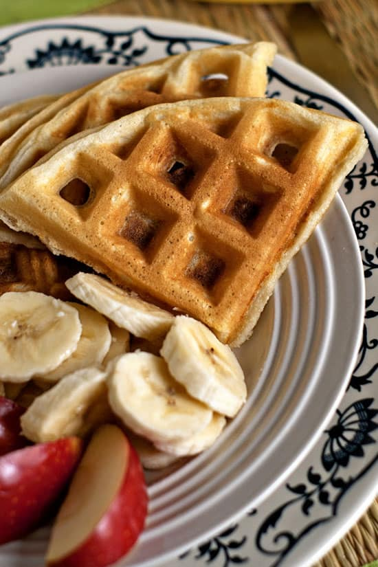 Melt in your mouth waffles